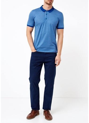 Adze Polo Yaka Tişört Gri